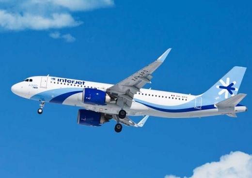 Convocada a insolvencia empresarial sucursal en Colombia de aerolínea mexicana de bajo costo Interjet
