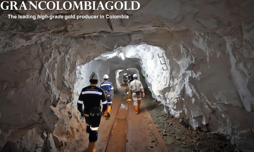 Gran Colombia produjo 3,19% más de oro en Segovia y 17,92% más de plata en tercer trimestre de 2021