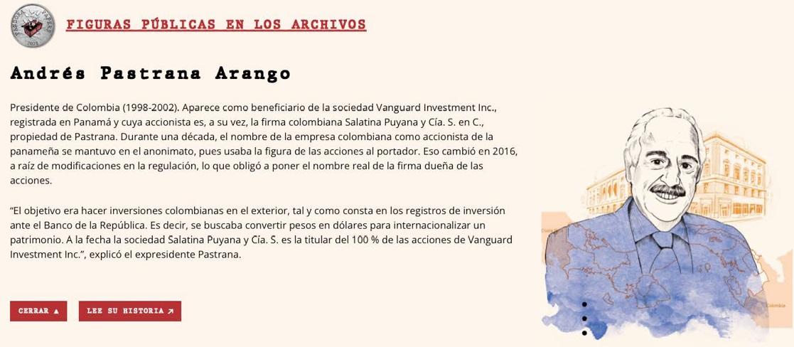 """Aquí van las 27 más importantes figuras de Colombia involucradas en los """"Pandora Papers"""""""